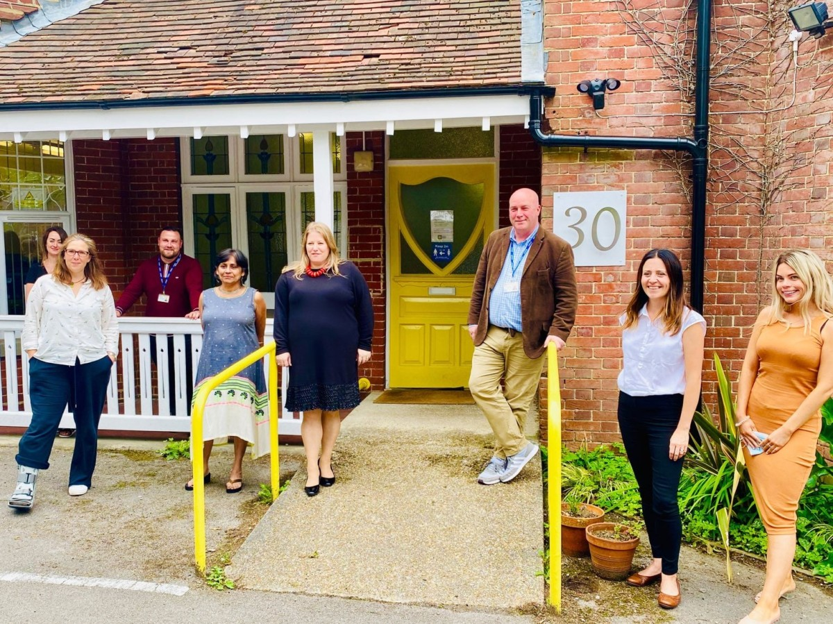 Police Crime Commissioner for Hampshire & the Isle of Wight visits Yellow Door